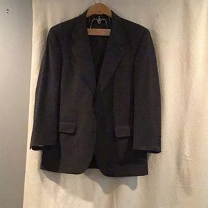 F) Burberry men's suit